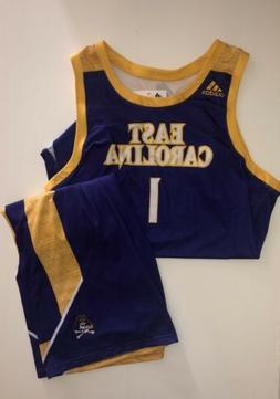 Adidas East Carolina Pirates Basketball Uniform