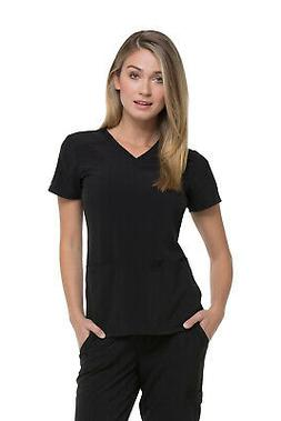 Dickies EDS Essentials DK615 Women's V Neck Top Medical Unif