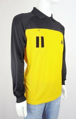 ADIDAS EQUIPMENT UK Men Soccer Judge Referee Uniform Shirt L