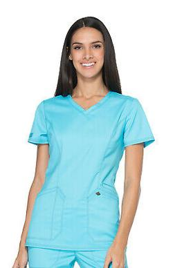 Dickies Essence DK803 Women's V-Neck Top Medical Uniforms Sc