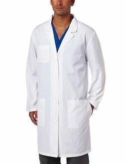Dickies Everyday Scrubs Unisex 40 Inch Lab Coat,White,Medium