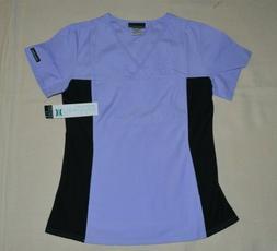 Cherokee Flexibles 2874 Women's V-Neck Knit Panel Top Medica