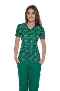 Cherokee Flexibles Women's Scrubs Top 1912C PDBE SIZE X-SMAL