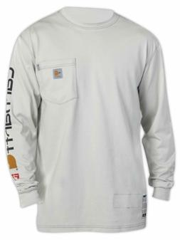 CARHARTT FORCE® FLAME RESISTANT GRAPHIC LONG-SLEEVE T-SHIRT