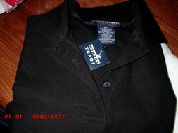 Girls/Boys Uniform Polo Shirts Black French Toast  Short Sle