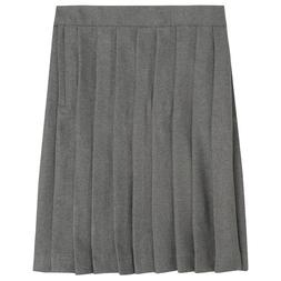 Girls Gray Pleated Skirt French Toast School Uniform Sizes 4