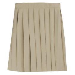 Girls Khaki Pleated Skirt French Toast School Uniform Sizes