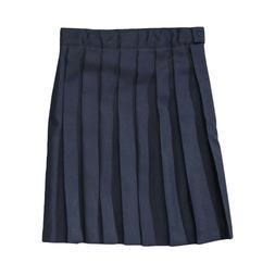 Girls Navy Blue Pleated Skirt French Toast School Uniform Si