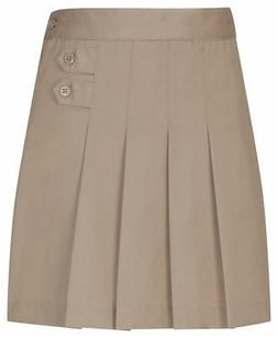 Classroom Uniforms Girls New Elastic Waistband Pleated Tab S