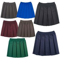 1ce5fecc9 Girls School Uniform Box Pleated Elasticated waist school ki