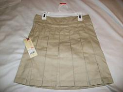 Cherokee GIRLS School Uniform size 10 large KHAKI/TAN pita b