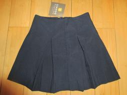 Dennis Girls School Uniform Skirt Navy Blue Tropical NWT Sty