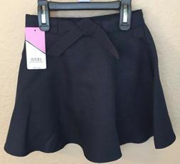 Izod Girls School Uniform Skort Skirt Size 5 Regular NWT