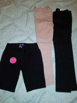 Girls Size 6 Clothing Lot , School Uniform Pants , skinny Th