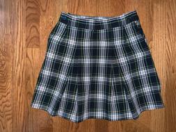 Parker Girls Skirt Campbell Plaid School Uniform Sz 8 - NWOT