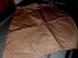 Girls Uniform 14 Khaki Skirts Omega Cotton Blend Everyday/ S