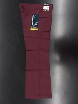 Girls French Toast Uniform/Casual Burgundy Bootcut Pants Siz