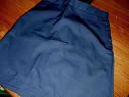 Girls Uniform Skirts Navy Cotton Blend Omega School Uniform