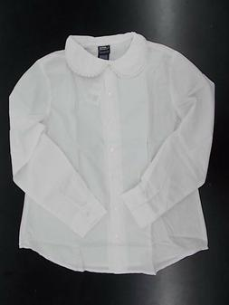 Girls French Toast Uniform White Shirt w/ Peter Pan Collar &