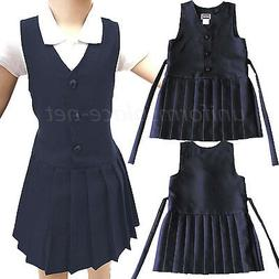 Girls Uniforms Jumper Hill Pleasted Skirt Jumper Dress Schoo