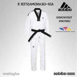 Adidas GRAND MASTER 2 Taekwondo Dan Uniform WTF Dobok TKD Cl