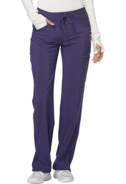 Grape Cherokee Scrubs Infinity Low Rise Drawstring Pants 112