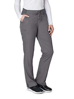 Grey's Anatomy 4277 Straight Leg Pant Granite M