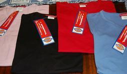 DICKIES Healthcare T Shirt Scrub Nurse Medical Uniform Red P