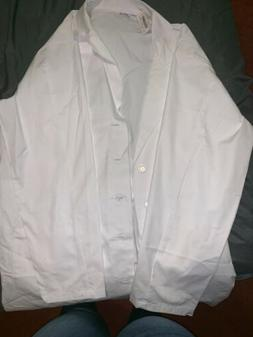 High Quality Professional Lab Coat  Medical White Unisex XS