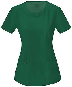 Cherokee Infinity Scrubs Women's Round Neck Top