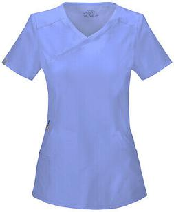 Infinity by Cherokee 2625A Women's Mock Wrap Top Medical Uni