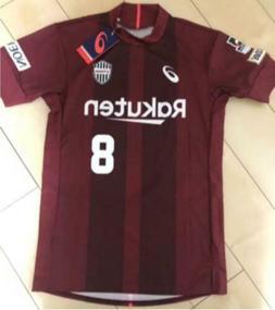 Iniesta Vissel Kobe home uniform M size New Unopened ASICS 1