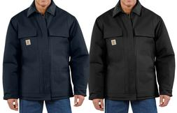 Carhartt Jacket Duck Traditional Arctic Quilt Lined Winter C