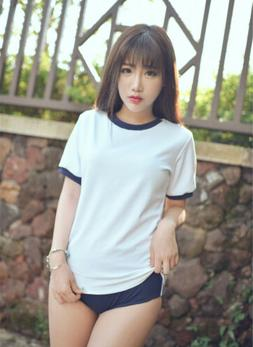 Japanese School Uniform Gym Sportwear T-shirt Shorts Cosplay