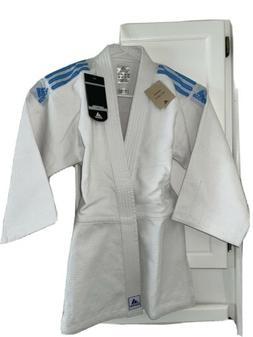 Adidas Judo Jiu-Jitsu Student Gi Uniform Kids *Brand New wit