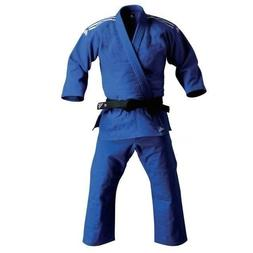 adidas Judo Student BLUE Gi Uniform Single Weave 100% Cotton