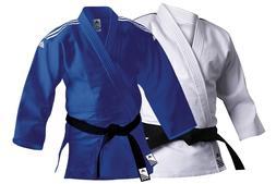 Adidas Judo Suit Training Uniform Blue White Adult 500g Judo