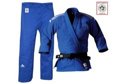 Adidas Judo Suit Champion II Gi 750g Blue Slim Fit IJF Appro