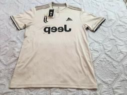 Adidas Juventus 18-19 Jeep Away Jersey S/S Soccer Uniform Sh
