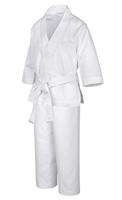 HAIVIDO Karate Uniform with Belt Light Weight Elastic Waistb