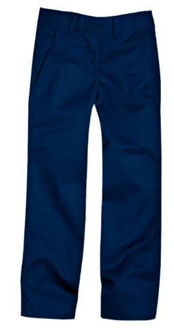 Dickies Little Boys' Uniform Flex Waist Flat Front Pant, Dar