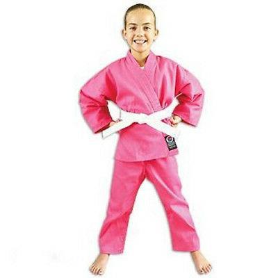 6 oz lightweight student uniform pink elastic