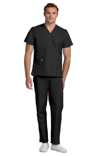 Adar Men's Medical Nursing Doctor Scrub Set Uniform V-neck S