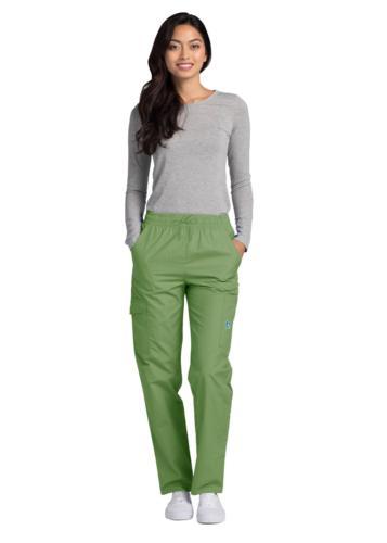 Adar Doctor Uniform Natural-Rise Cargo Leg Pant