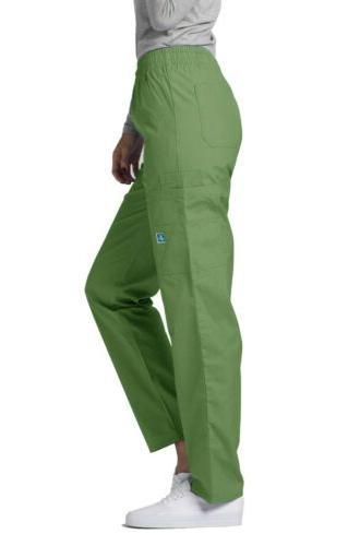 Adar Nurse Uniform Pocket Cargo Leg Pant