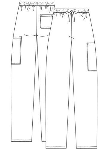 Adar Medical Leg Scrub Pants