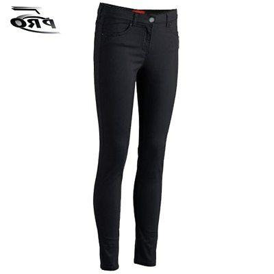 Pro 5 Apparel Stretched Girls Skinny Pants Black School Unif