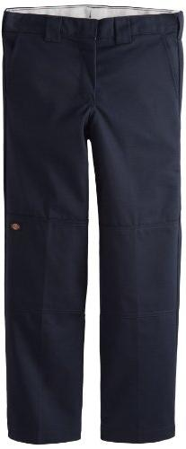 Dickies Big Boys' Flex Waist Double Knee Pant With Extra Poc