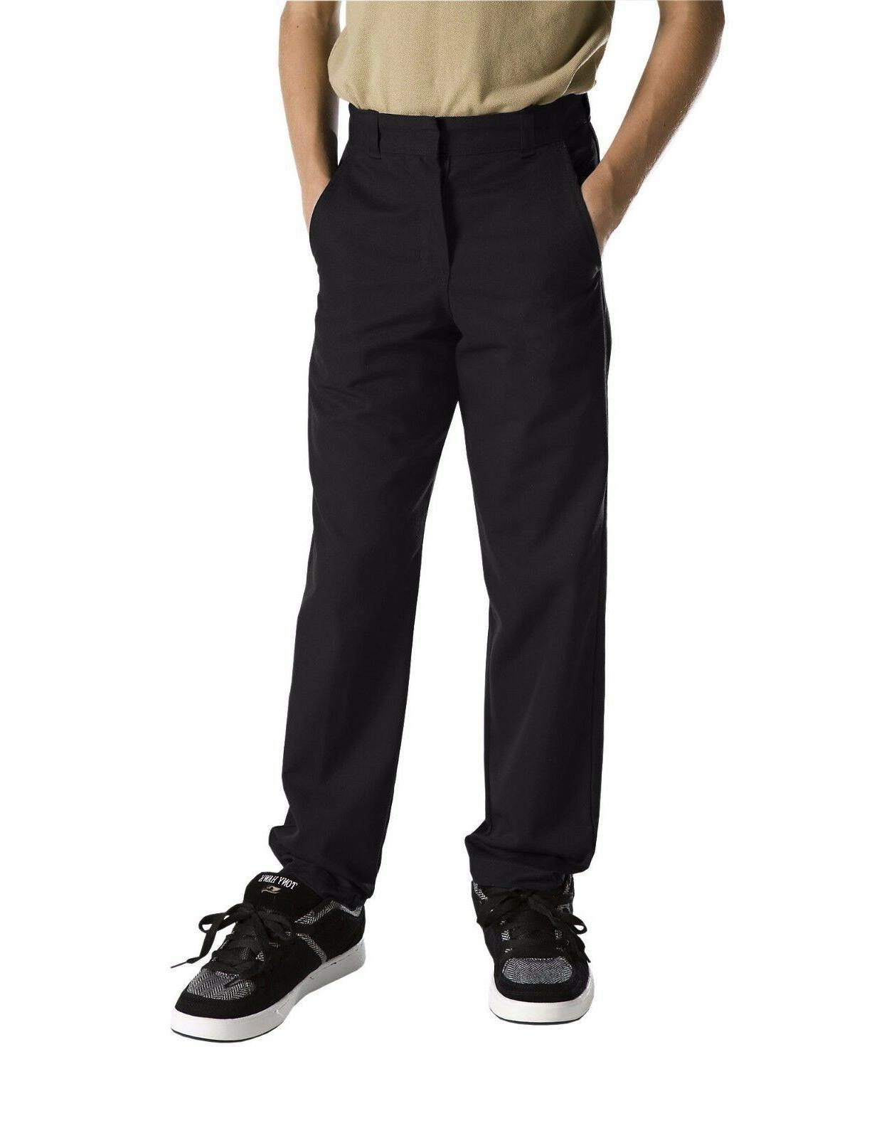 Dickies Boys/Girls Classic Fit Straight Leg Flat Front Unifo