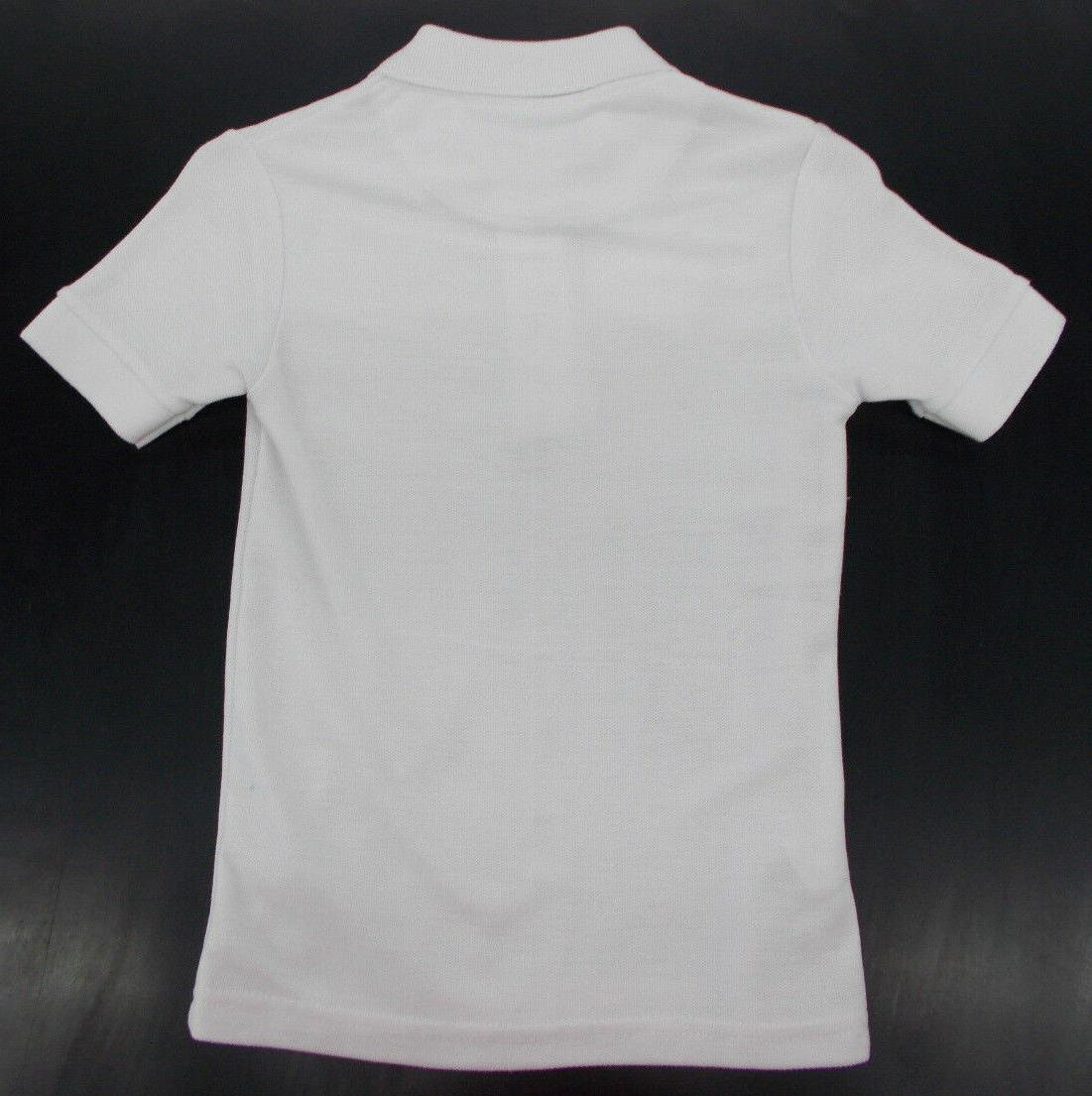 Boys White Polo Shirts